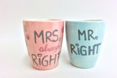 für Braut und Bräutigam