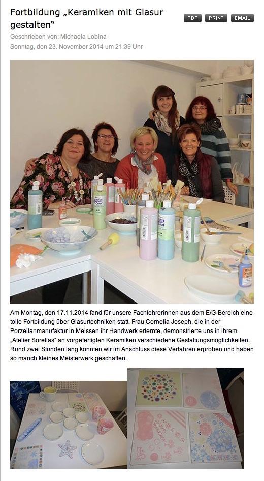 Fortbildung, Fachlehrerinnen, Bayern