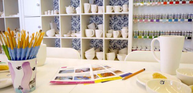 Keramik und Farben