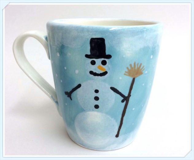Schneemann Tasse,